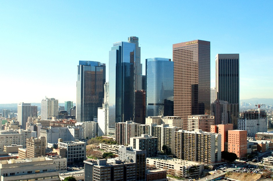 Downtown, Los Angeles, Skyline