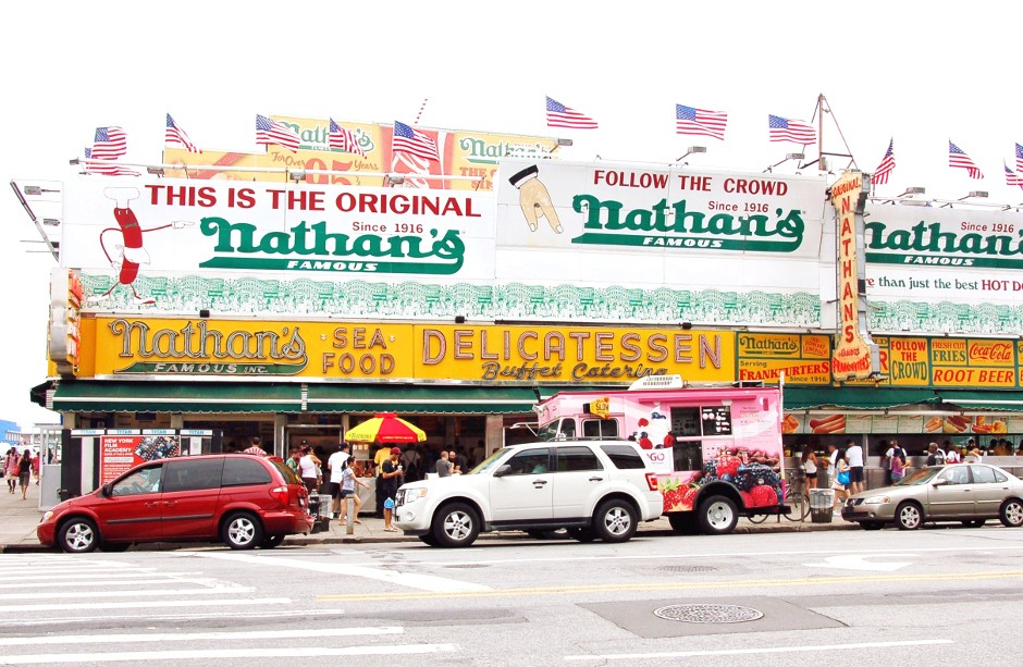 Brooklyn, Coney Island, Nathan's