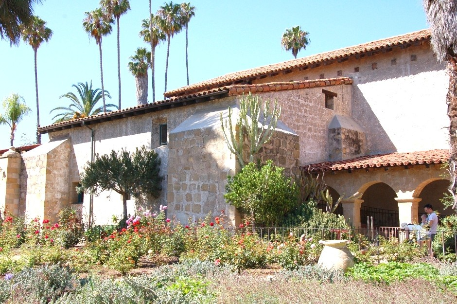 Santa Barbara, mision, Californie